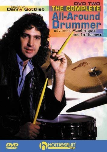 The Complete All-Around Drummer DVD Two by Danny Gottlieb DVD