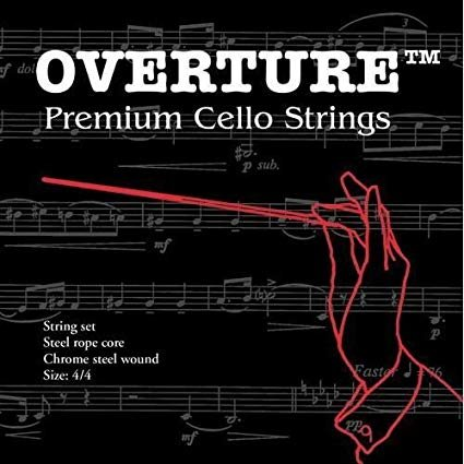 Overture 4/4 Full Size Cello String Set