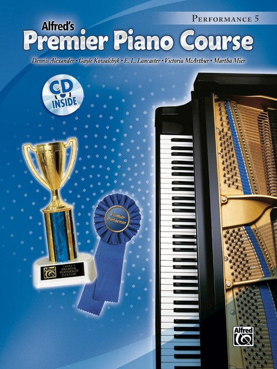 Alfred Premier Piano Course, Performance 5