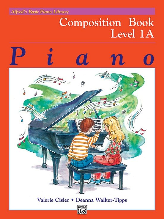 Alfred's Basic Piano Library: Composition Book 1A