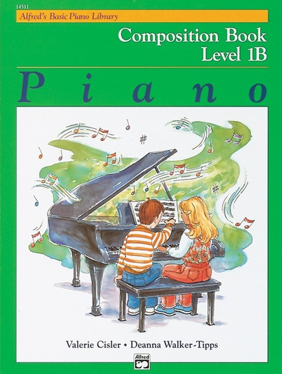 Alfred's Basic Piano Course Composition Book 1B