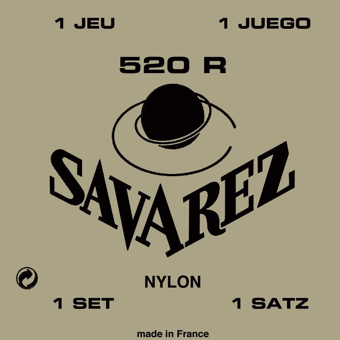 Savarez 520 R Nylon High Tension Classical Strings