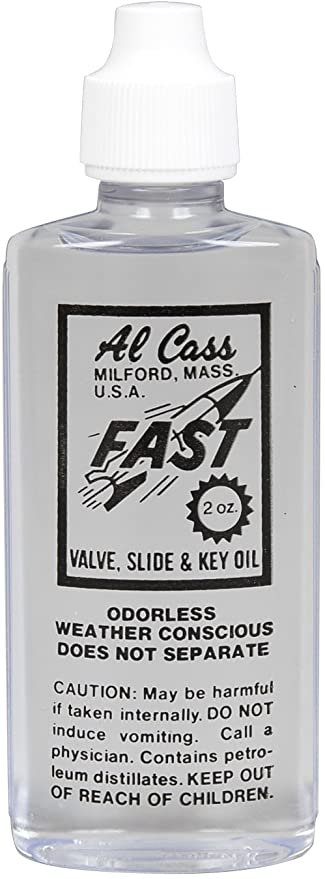 Al Cass Valve Oil 2 oz. Bottle