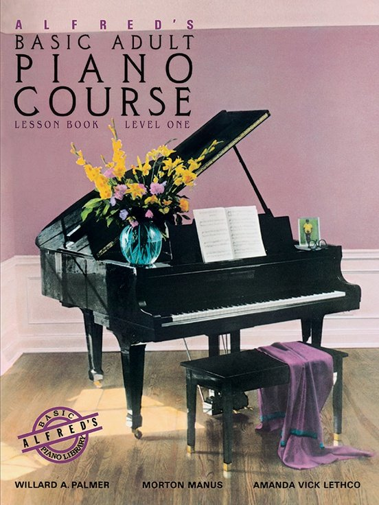 Alfred's Basic Adult Piano Course Lesson Level 1