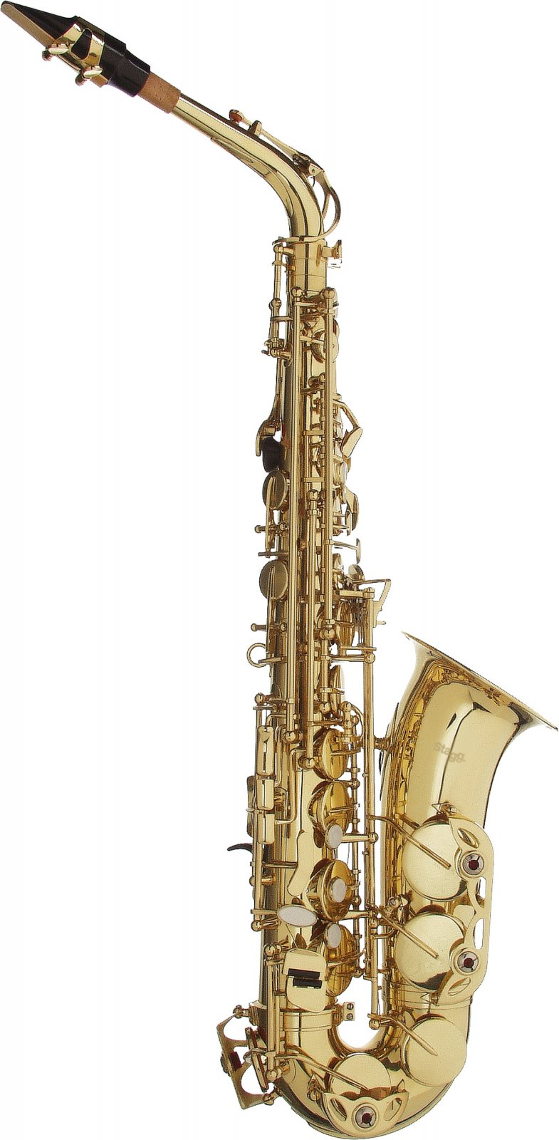 Stagg WS-AS215 Alto Saxophone w/ Case