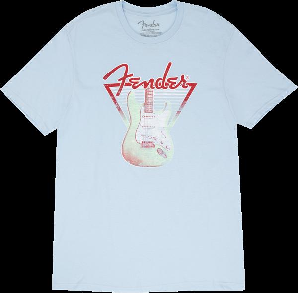 Fender Strat Lines T-Shirt - Blue Medium