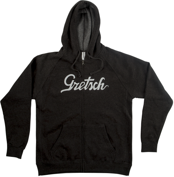 Gretsch Script Logo Hoodie Gray XL