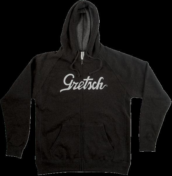 Gretsch Script Logo Hoodie Gray - XXL