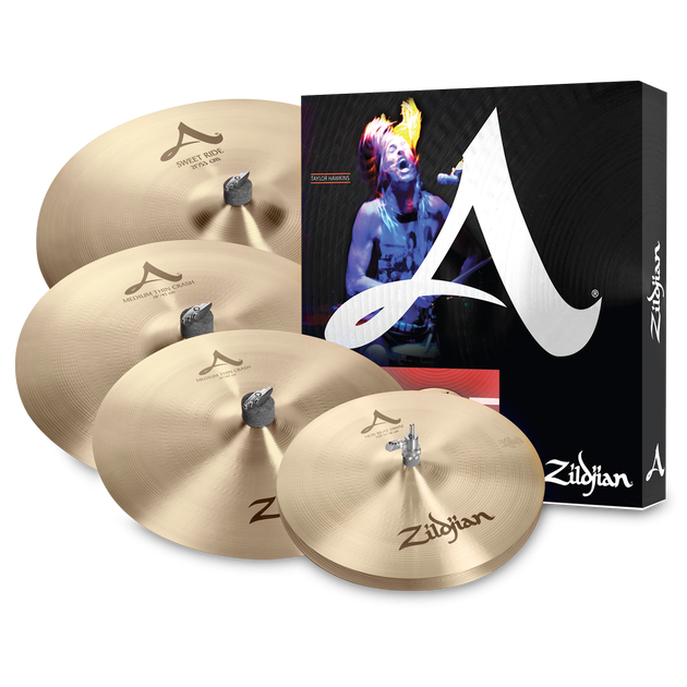 Zildjian A Series A391 Cymbal Package with FREE 18 Crash Cymbal