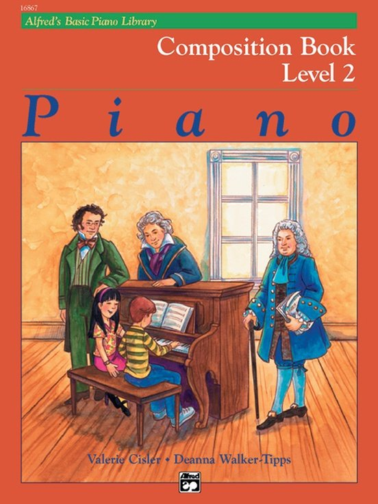 Alfred's Basic Piano Library Composition Book 2
