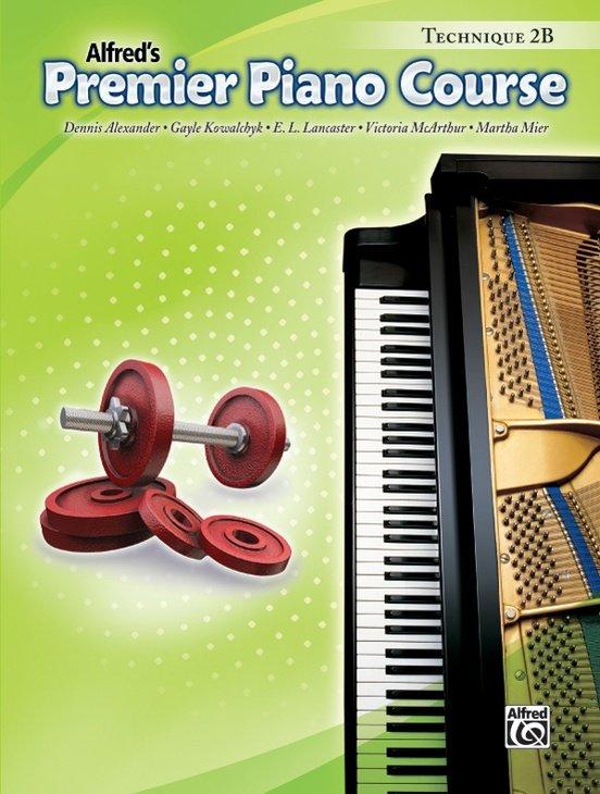 Alfred Premier Piano Course, Technique 2B