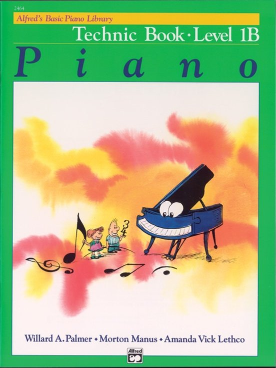Alfred's Basic Piano Course Technic Book 1B