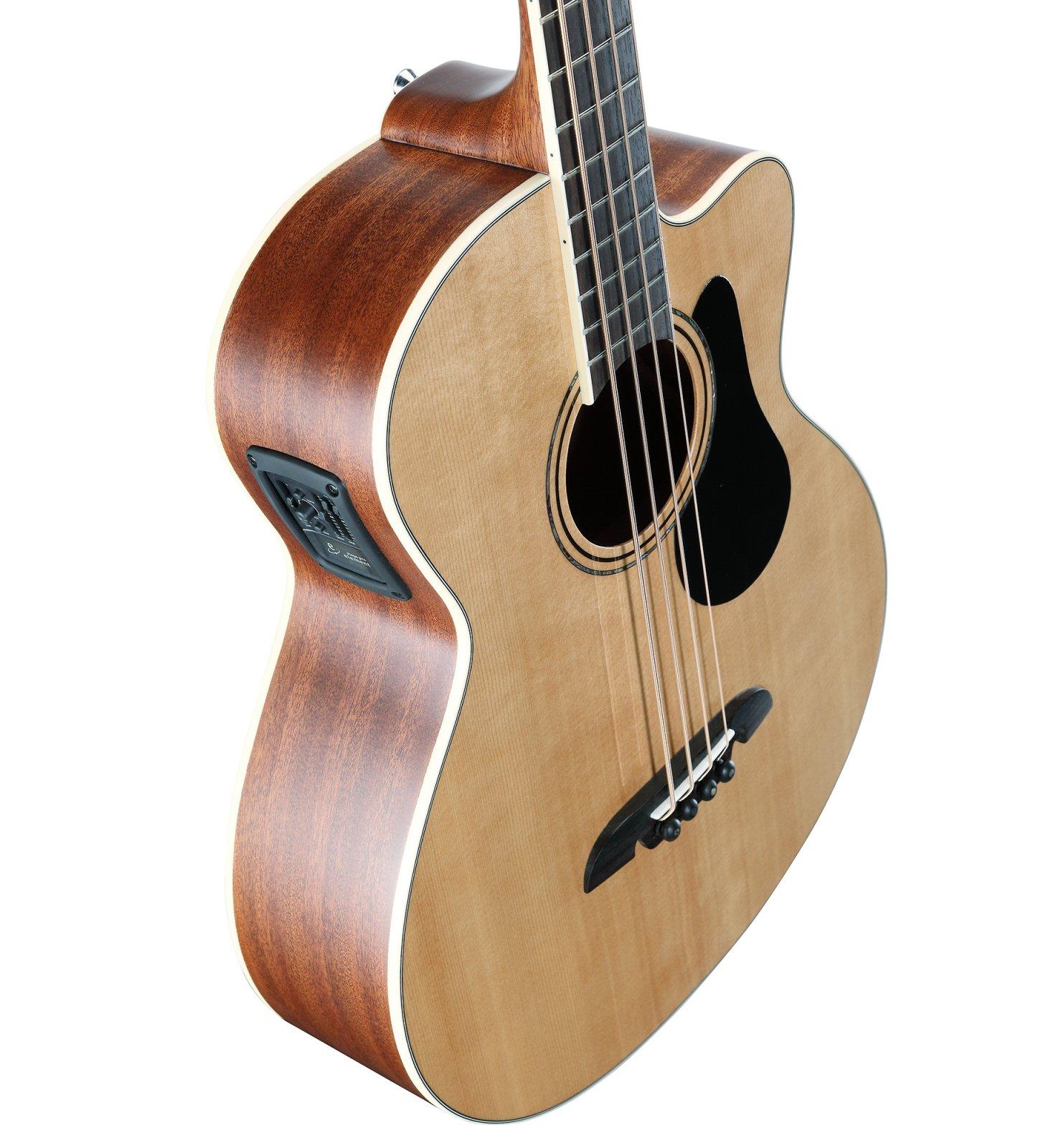 Alvarez AB60CE Arist Acoustic-Electric Bass - Natural Gloss