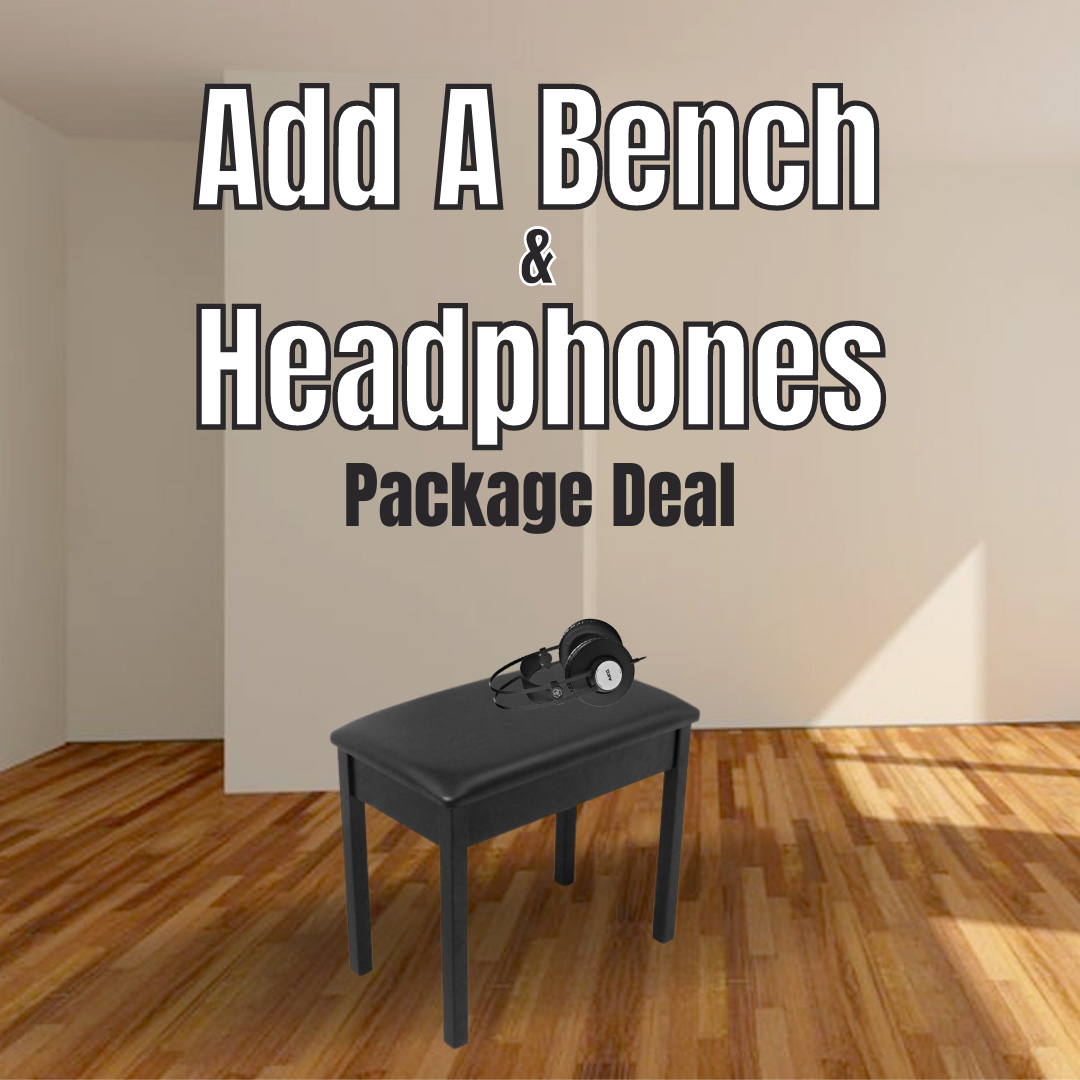 Add A Padded Bench and Headphones Package Deal