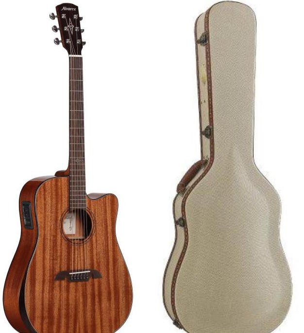 Alvarez ADM66CEAR With Alvarez DC1 Deluxe Wood Case