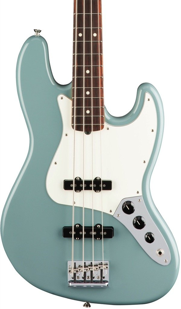 Fender American Professional Jazz Bass, Rosewood Fingerboard - Sonic Gray