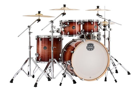 Mapex Armory 5pc. Rock Shell Pack - Redwood Burst