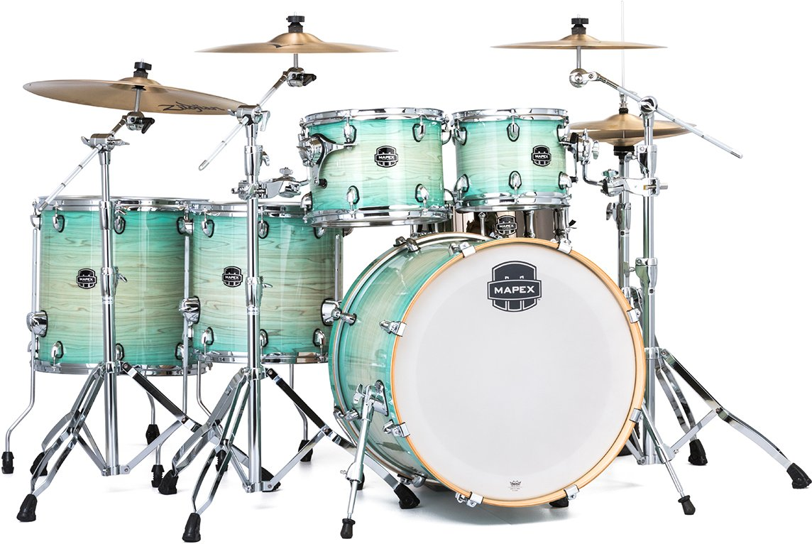 Mapex AR628SFU 6-Piece Armory Series Studioease Shell Pack (Fast Toms) - Ultramarine
