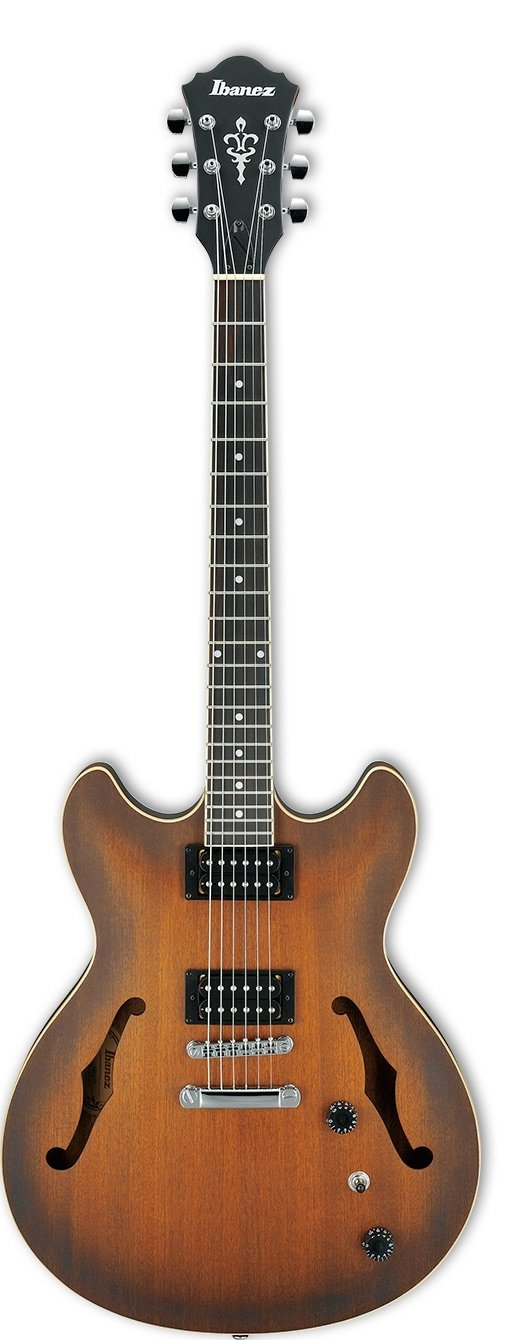 Ibanez AM53TF Artcore 6str Electric Guitar  - Tobacco Flat
