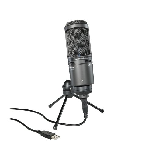 Audio Technica AT2020USB + Cardioid Condenser USB Microphone