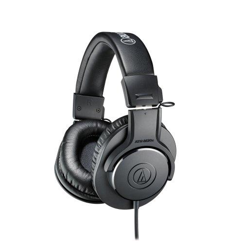 Audio-Technica ATH-M20x Professional Headphones-Black