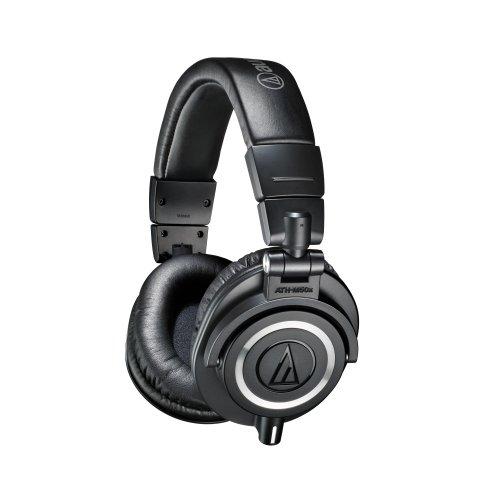 Audio-Technica ATH-M50xBK Professional Monitor Headphones - Black