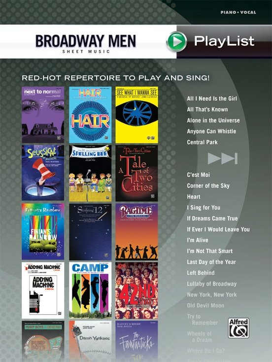 Alfred Broadway Men Sheet Music Playlist