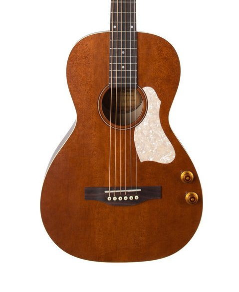 Art & Lutherie Roadhouse Q-Discrete - Havana Brown w/ Gig Bag