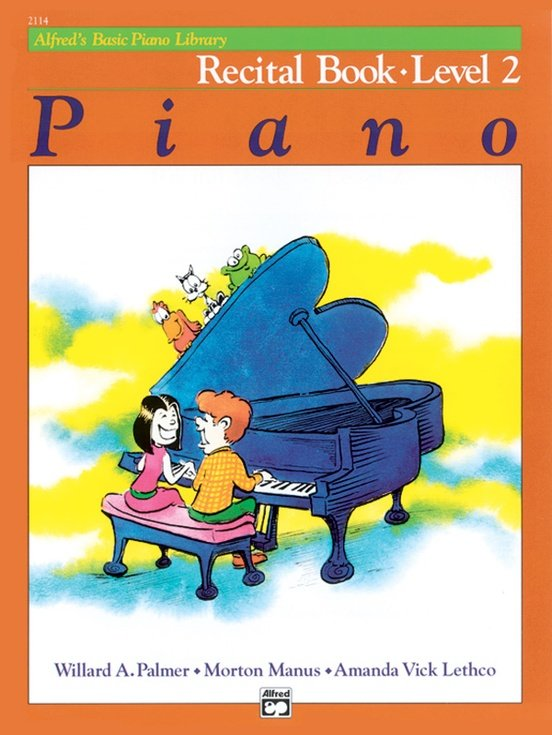 Alfred's Basic Piano Library Recital Book 2