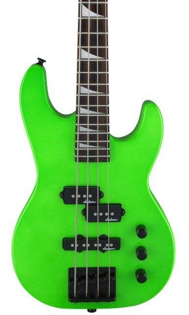 Jackson JS Series Concert Bass Minion JS1X - Neon Green