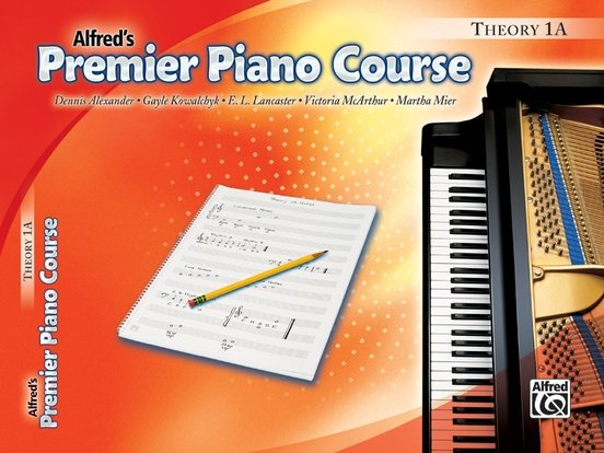 Alfred Premier Piano Course Theory 1A