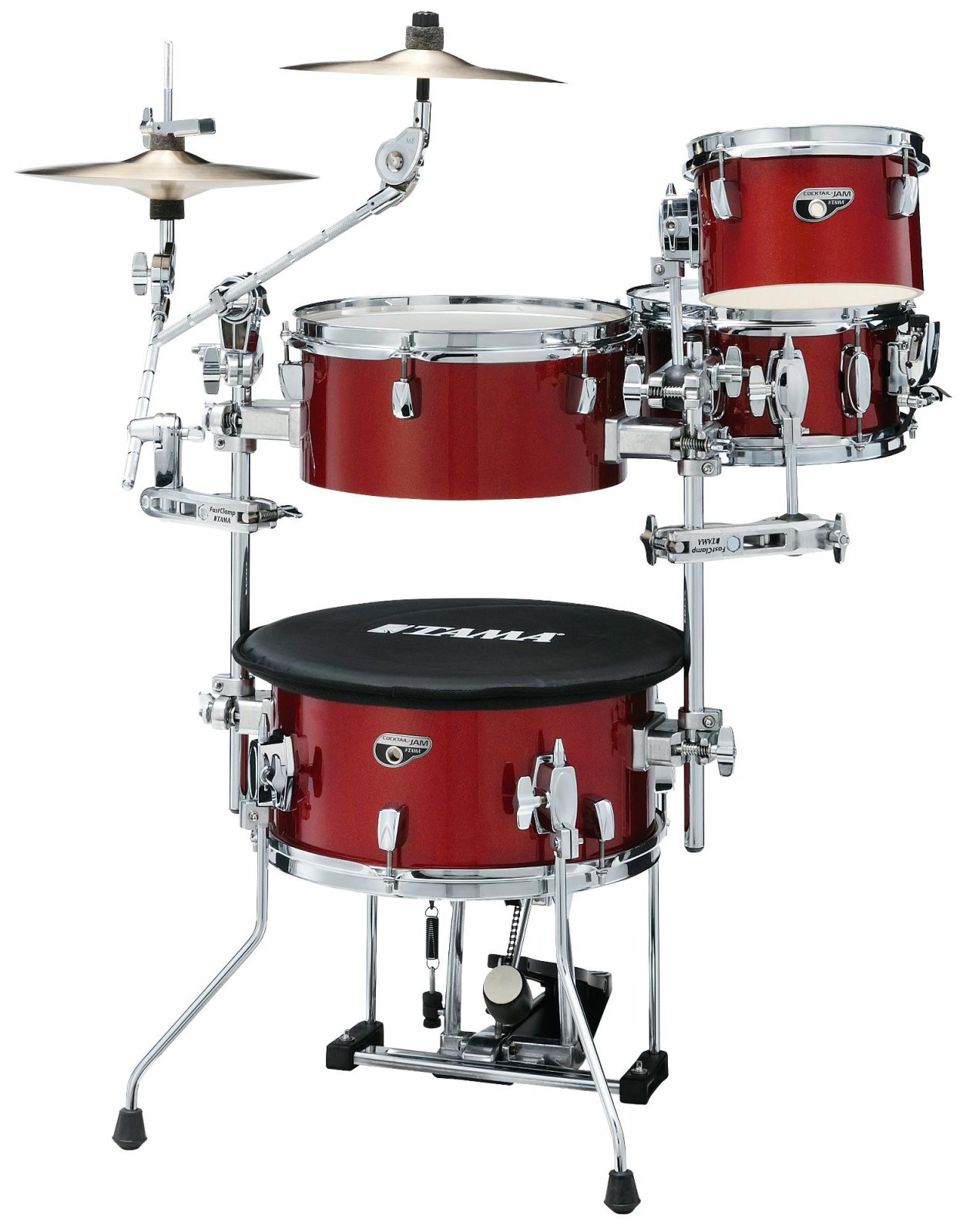 Tama Silverstar Cocktail Jam Mini Kit Candy Apple Mist