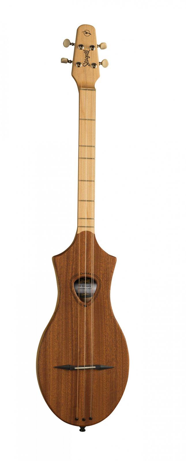 Seagull Merlin M4 D-Tuning SG Dulcimer Guitar-Mahogany