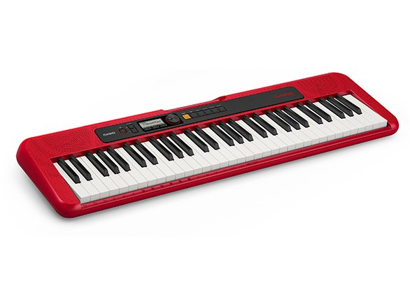Casio CT-S200RD Portable Keyboard - Red