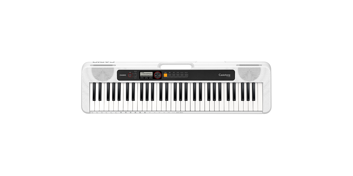 Casio CT-S200WE 61-Note Portable Keyboard - White