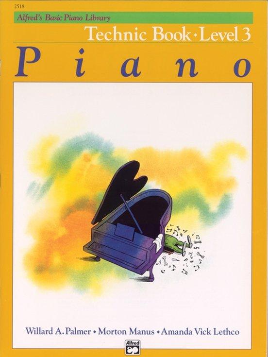 Alfred's Basic Piano Course: Technic Book 3