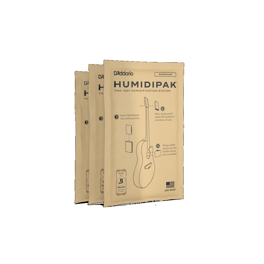D'Addario Humidipak-Replacement 3 Pack