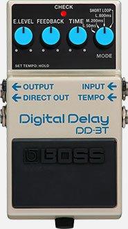 Boss DD-3T Digital Delay Pedal