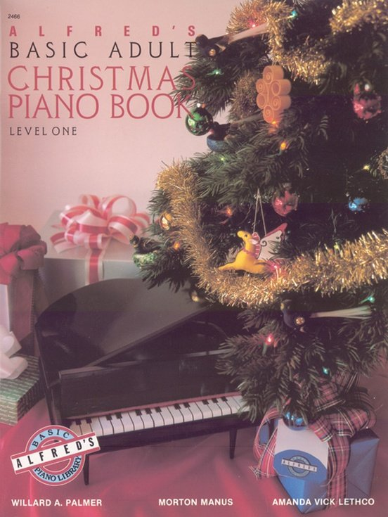 Alfred's Adult Christmas Piano Book Level One