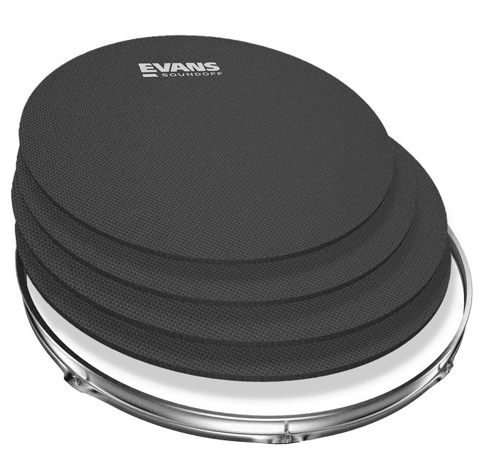 Evans SO-0246 Sound Off Tom/Snare Mute Pack