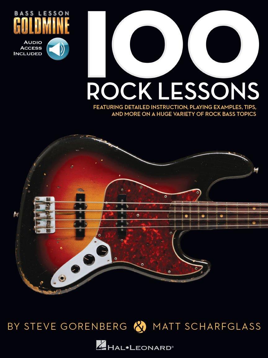 100 Rock Lessons Bass Lesson Goldmine Series
