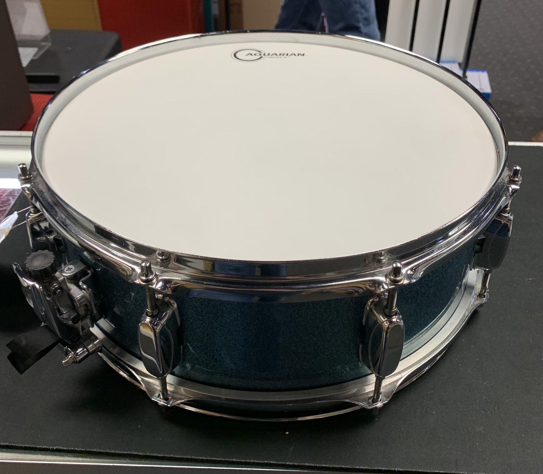 Used TAMA Silverstar All Birch Snare 5x14 - Sparkle Blue