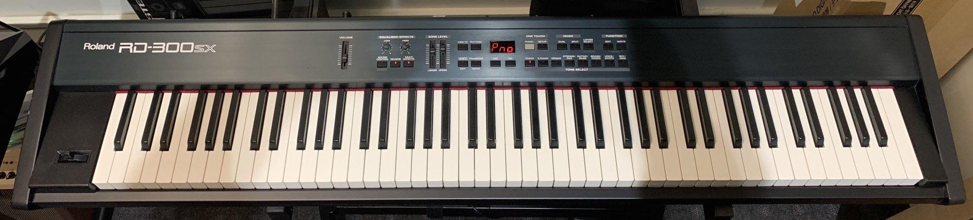 Used Roland RD-300SX 88 Key Digital Stage Piano