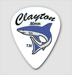 Clayton Sandshark .50mm Guitar Picks-6 pack