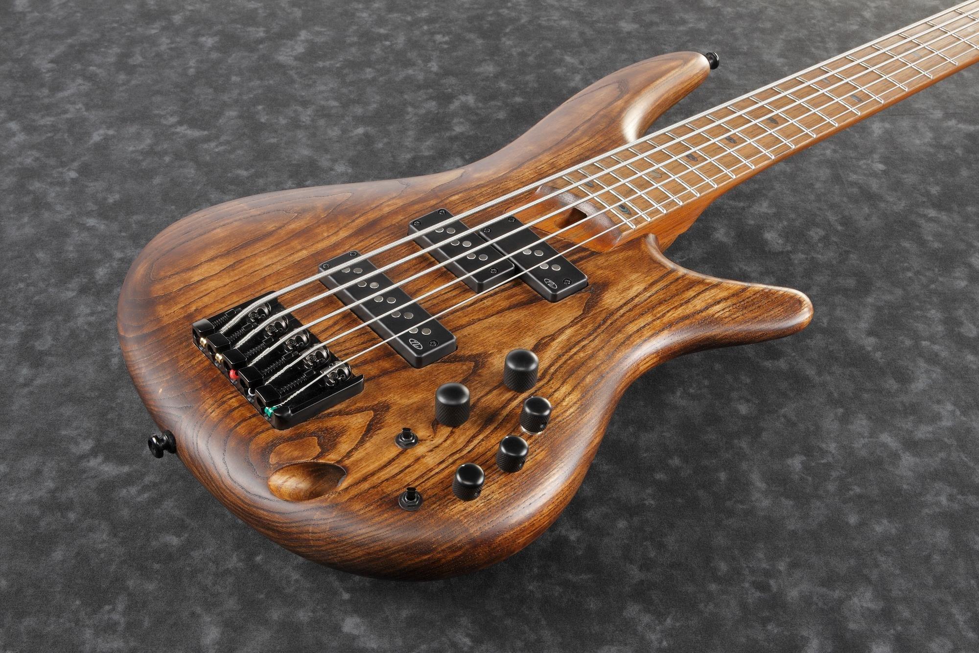 Ibanez SR655EABS SR Standard 5str Electric Bass - Antique Brown Stained