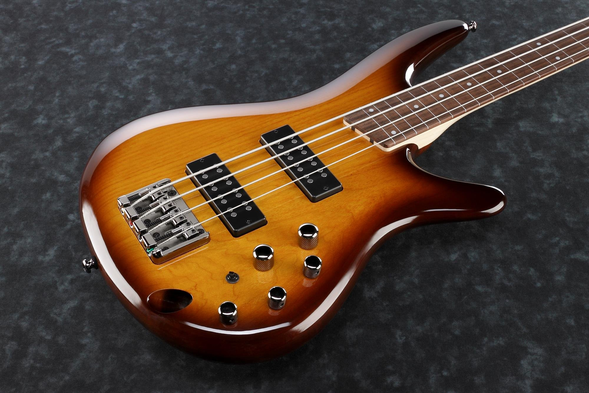Ibanez SR370EFBBT SR Standard 4 String Electric Bass - Fretless - Brown Burst