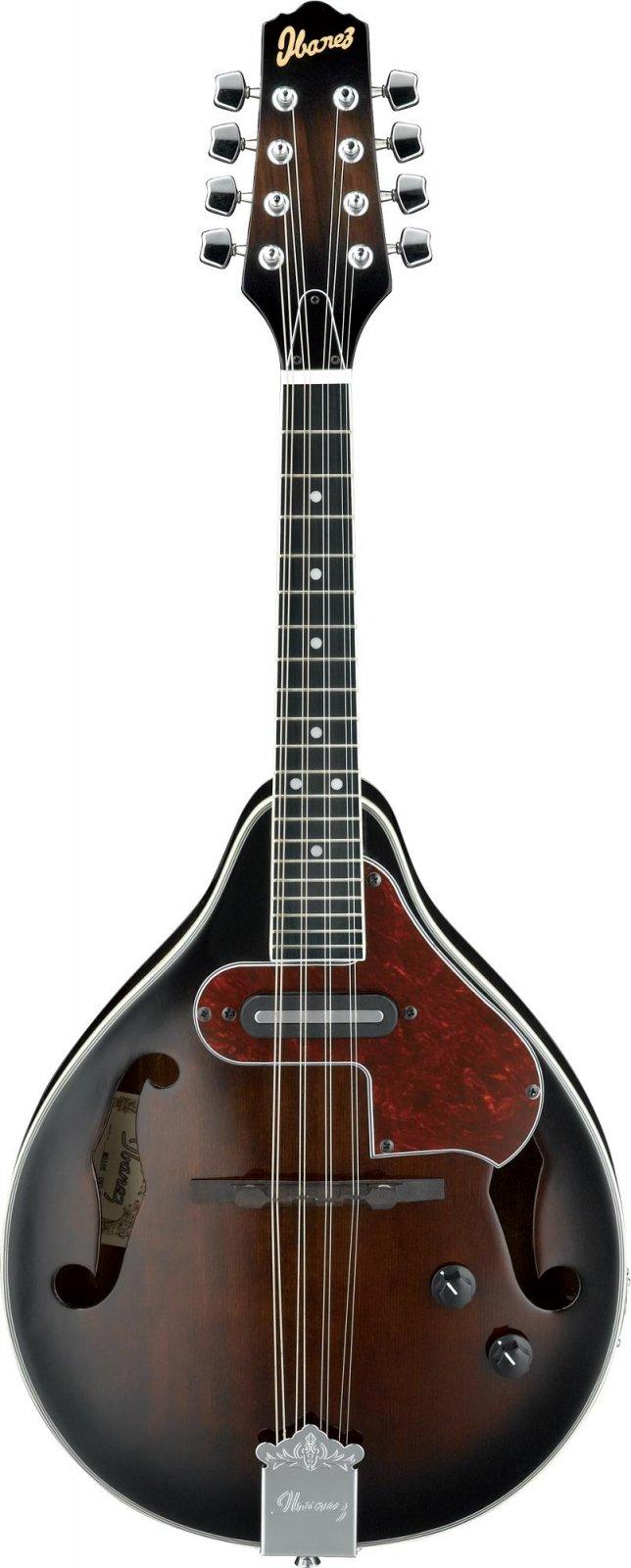 Ibanez M510EDVS A-Style Acoustic-Electric Mandolin - Dark Violin Sunburst