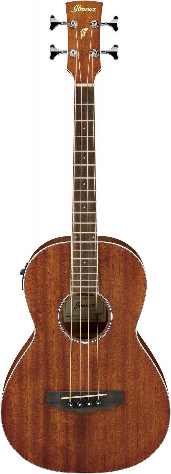 Ibanez PNB14EOPN Parlor Acoustic-Electric Bass - Open Pore Natural