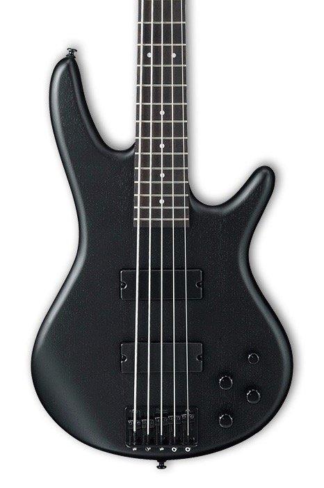 Ibanez Gio GSR205BWK 5 String Bass - Weathered Black