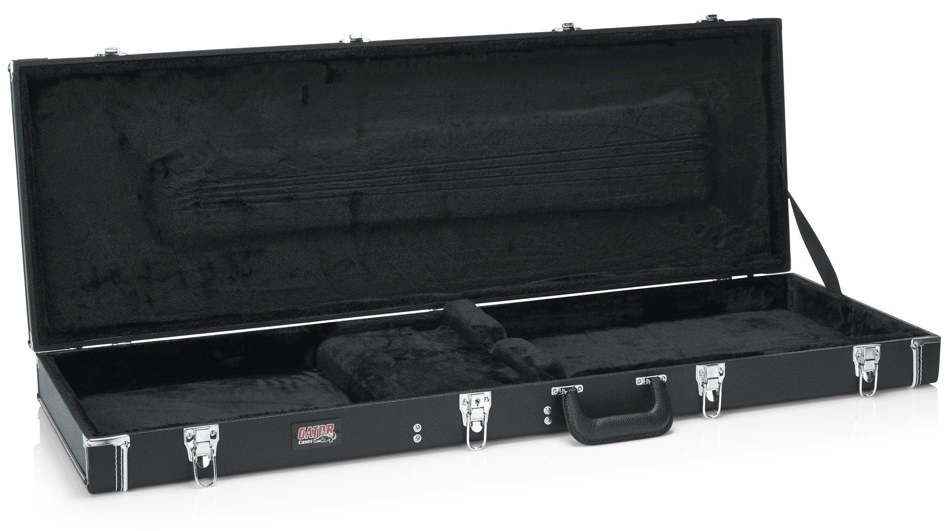 Gator GW-BASS Deluxe Wood Case for Bass Guitars